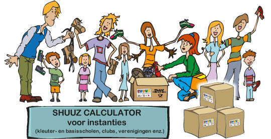 Shuuz calculator voor instanties